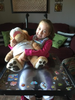 Abigail with Roary 1